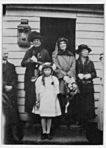 Opening of original Village Hall 1921